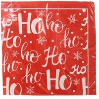 Christmas Lunch Napkin 25 Pack - Ho Ho Ho