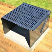 Yorkshire Grill Garden Firepit BBQ and Log Carrying Sling