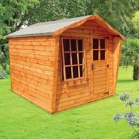 Albany Sheds Rockingham 8 x 8 Apex Shiplap Wood Garden Summer House