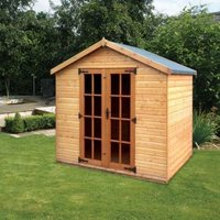 Albany Sheds Cottingham 8 x 6 Apex Shiplap Wood Garden Summer House