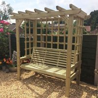 Croft Beatrice 3 Seat Garden Arbour