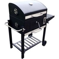 American Large Portable Garden Charcoal BBQ 60 x 45cm