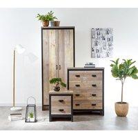 Boston 3 Piece Bedroom Set Oak Styled
