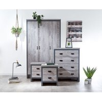Boston 4 Piece Bedroom Set Grey