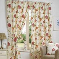 """Hamilton McBride Bouquet Curtains (66"""" x 72"""") - Pink"""