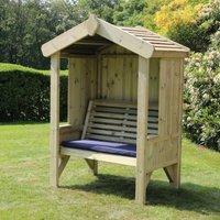 Croft Cottage 2 Seat Enclosed Garden Arbour
