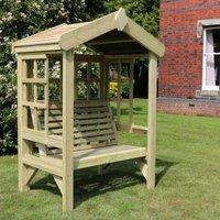 Croft Cottage 2 Seat Trellis Garden Arbour