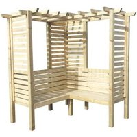 Shire Clematis Pressure Treated Garden Arbour