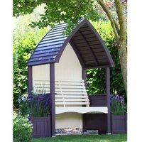 AFK Premium Cottage Arbour Lavender and Cream 2 Seat
