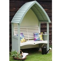 AFK Premium Cottage Arbour Heritage Sage and Cream 2 Seat