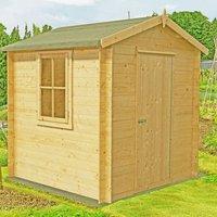 Shire Danbury Garden Log Cabin 19mm 7 x 7