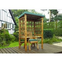 Charles Taylor Wentworth Restful Arbour - Green Cushion