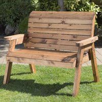 Charles Taylor 2 Seat Traditional Garden Bench