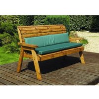 Charles Taylor Winchester 3 Seat Garden Bench - Green