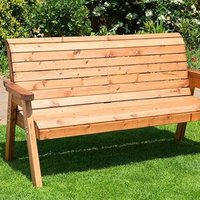 Traditional Three Seater Bench