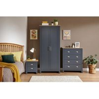 Lancaster 3 Piece Bedroom Set Blue