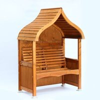 AFK Premium Orchard Arbour Beech Stain 2 Seat