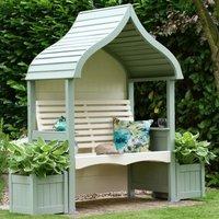 AFK Premium Orchard Arbour Heritage Sage and Cream 2 Seat
