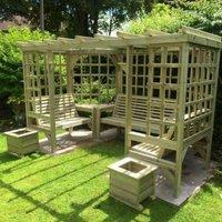 Croft Riviera 7 Seat Garden Arbour