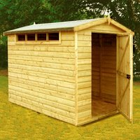 Shire Security Apex Garden Shed (10 x 8)