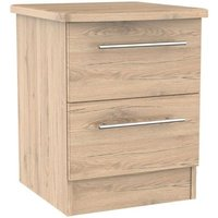 Colby Bedside Brown 2 Drawers