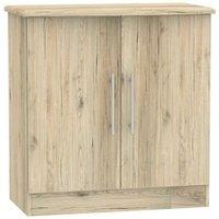 Colby Cabinet 2 Door Bordeux Oak Style