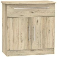 Colby 1 Drawer 2 Door Dining Room Sideboard Bordeaux Oak
