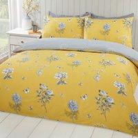 Hamilton McBride Honey King Size Duvet Cover Yellow