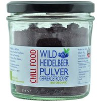 Bio Wild-Heidelbeerpulver gefriergetrocknet Rohkost