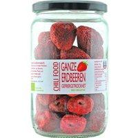Bio Erdbeeren ganz gefriergetrocknet Rohkost