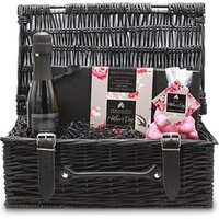 Mother's Day Chocolate and Prosecco Wicker Hamper (Small)