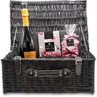 Mother's Day Chocolate and Prosecco Wicker Hamper (Large)