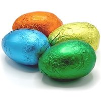 Coloured Easter eggs 6.5cm - Bulk box of 68