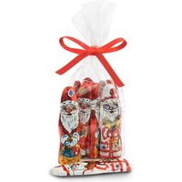 Foiled milk chocolate santas - Bag of 40