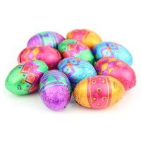 Patterned mini chocolate Easter eggs - Bag of 100