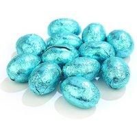 Blue mini Easter eggs - Bulk bag of 620 (approx.)