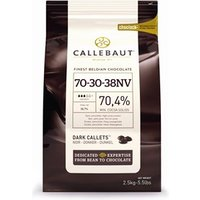 Callebaut dark chocolate chips (callets) 70% - 10kg bag