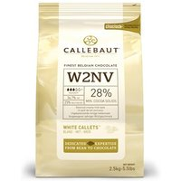 Callebaut white chocolate chips (callets) - 10kg bag