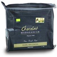 Chocolat Madagascar, Organic 70% dark chocolate couverture 1kg