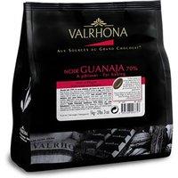 Valrhona Guanaja, 70% dark chocolate chips - Small 1kg bag