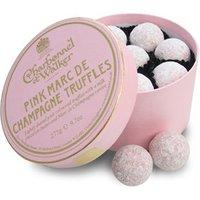 Charbonnel et Walker Pink Marc de Champagne truffles - 275g box