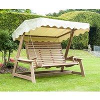 Alexander Rose Mahogany Wood Swing Seat