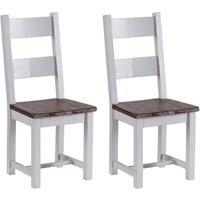 Hamptons Painted Dining Chair - Besp Oak