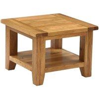 Vancouver Petite Oak Square Coffee Table - Besp Oak