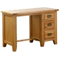 Vancouver Petite Oak Dressing Table - Besp Oak