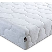 Product photograph showing Breasley Uno 1000 Pocket Spring 20cm Ortho Deep Mattress With Fresche Technology - 5ft King Size