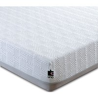 Product photograph showing Breasley Uno 2000 Memory Pocket Spring 25cm Deep Mattress With Adaptive And Fresche Technology - 5ft King Size