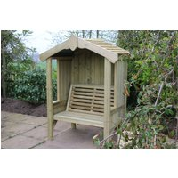Product photograph showing Churnet Valley Cottage 2 Seater Garden Arbour