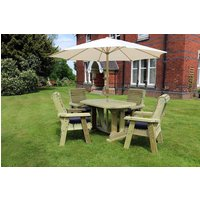 Product photograph showing Churnet Valley Deluxe Cream Parasol