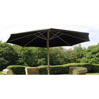 Product photograph showing Churnet Valley Deluxe Green Parasol